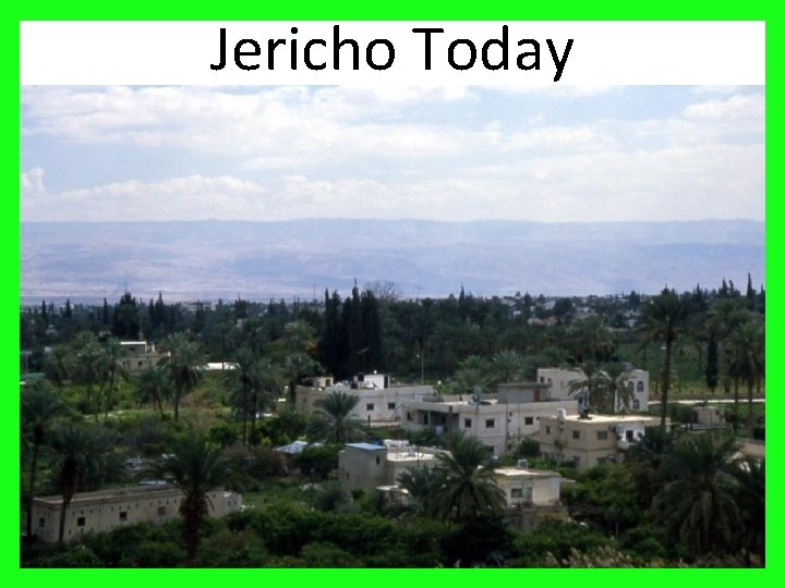Jericho Today 20