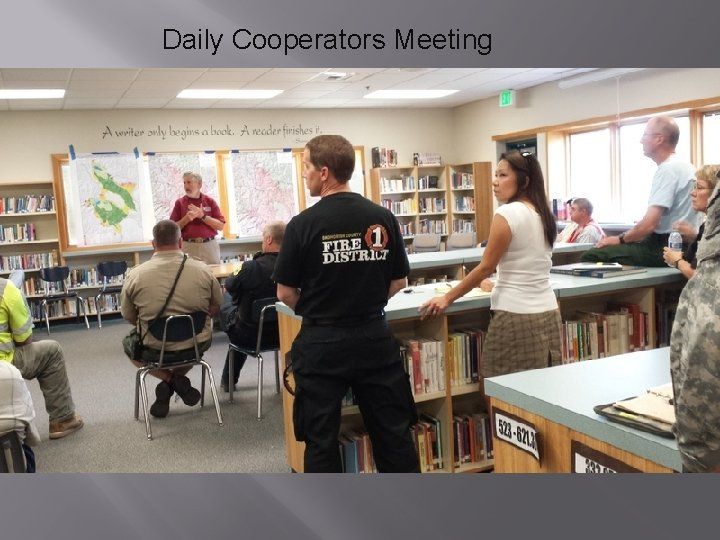 Daily Cooperators Meeting