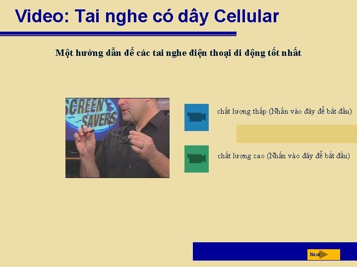 Video: Tai nghe có dây Cellular Một hướng dẫn để các tai nghe điện