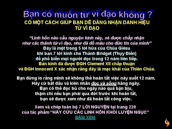 """CÓ MỘT CÁCH GIÚP BẠN DỄ DÀNG NHẬN DANH HIỆU TỬ VÌ ĐẠO """"Linh"""