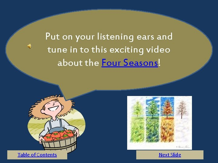 Put on your listening ears and tune in to this exciting video about the