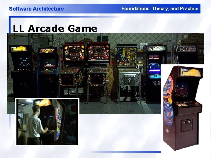Software Architecture Foundations, Theory, and Practice LL Arcade Game 23