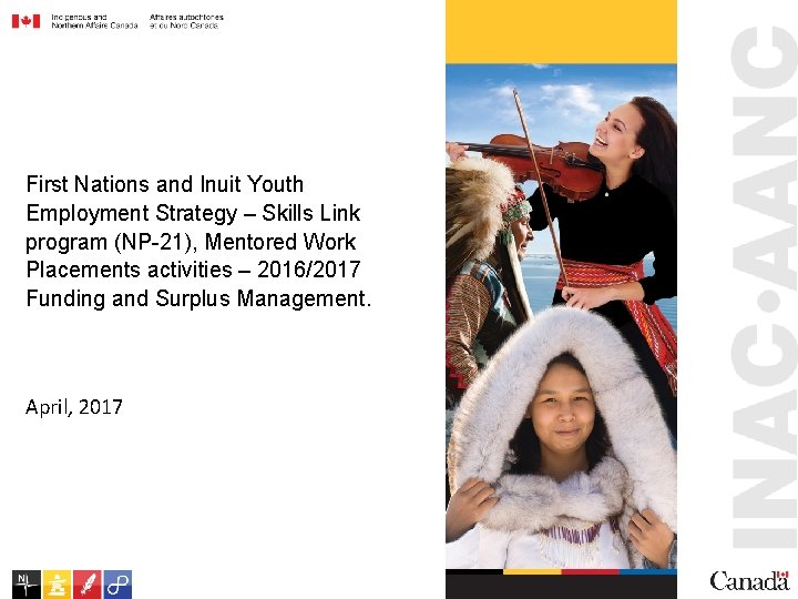 First Nations and Inuit Youth Employment Strategy – Skills Link program (NP-21), Mentored Work