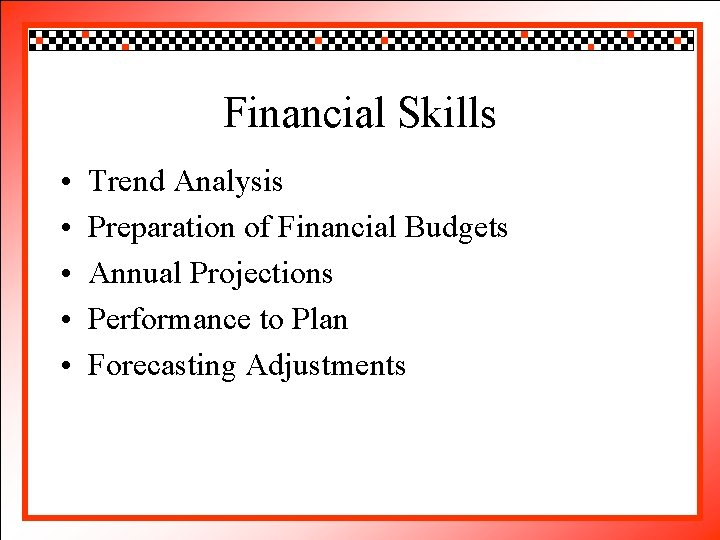 Click to. Financial edit Master title style Skills • • • Trendto Click Analysis