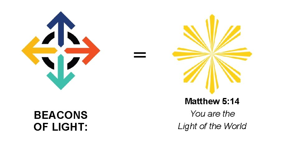 = BEACONS OF LIGHT: Matthew 5: 14 You are the Light of the World