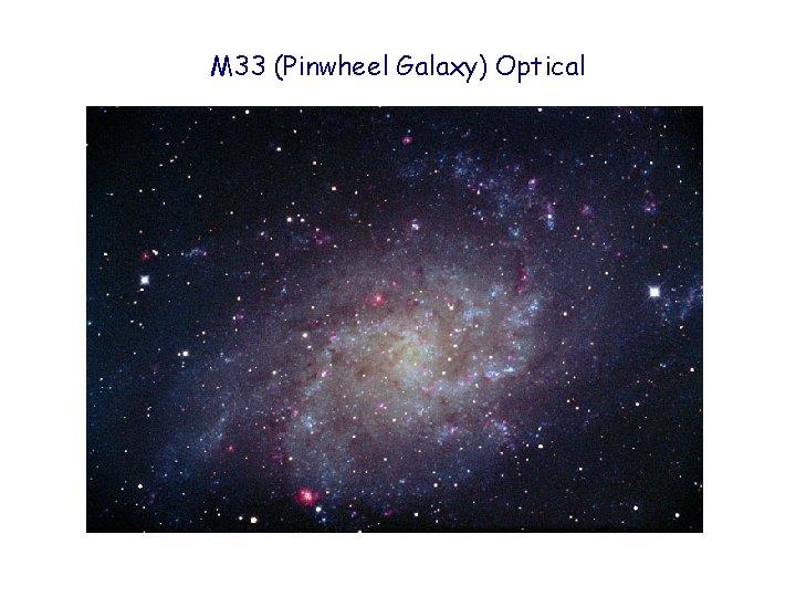 M 33 (Pinwheel Galaxy) Optical