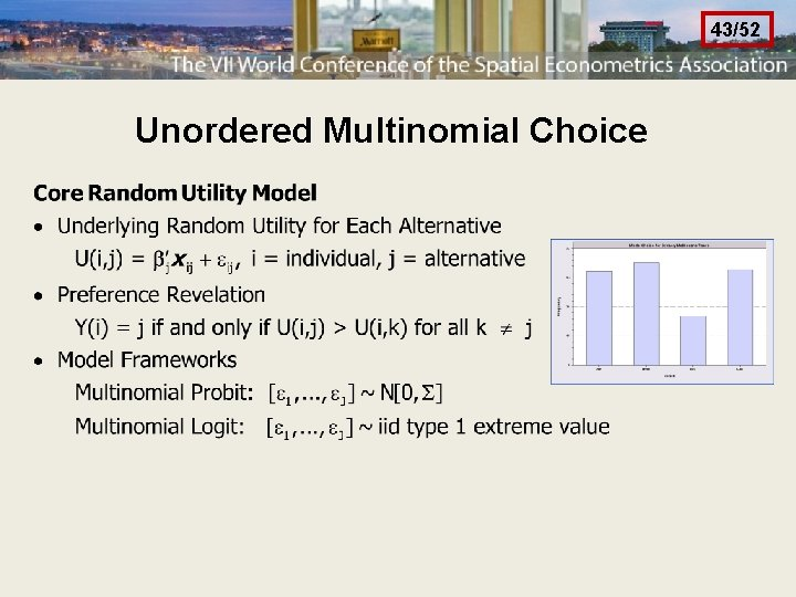 43/52 Unordered Multinomial Choice