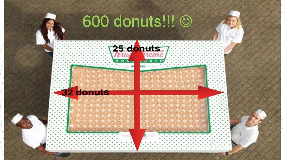 600 donuts!!!