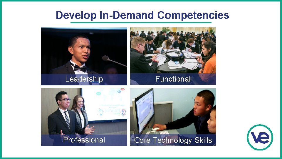 Develop In-Demand Competencies Leadership Functional Professional Core Technology Skills