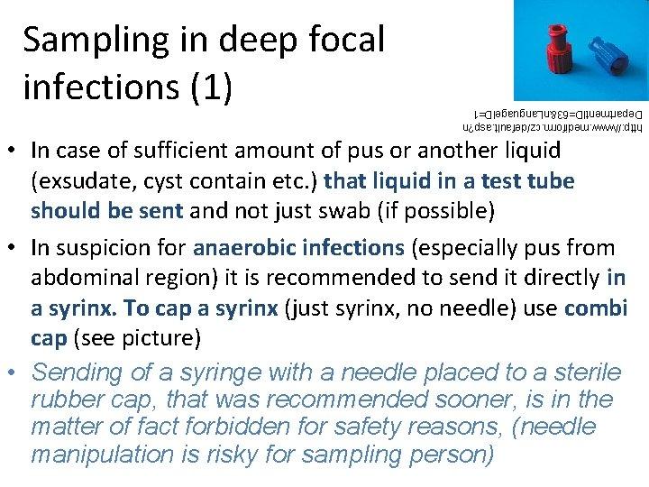 http: //www. mediform. cz/default. asp? n Department. ID=63&n. Language. ID=1 Sampling in deep focal
