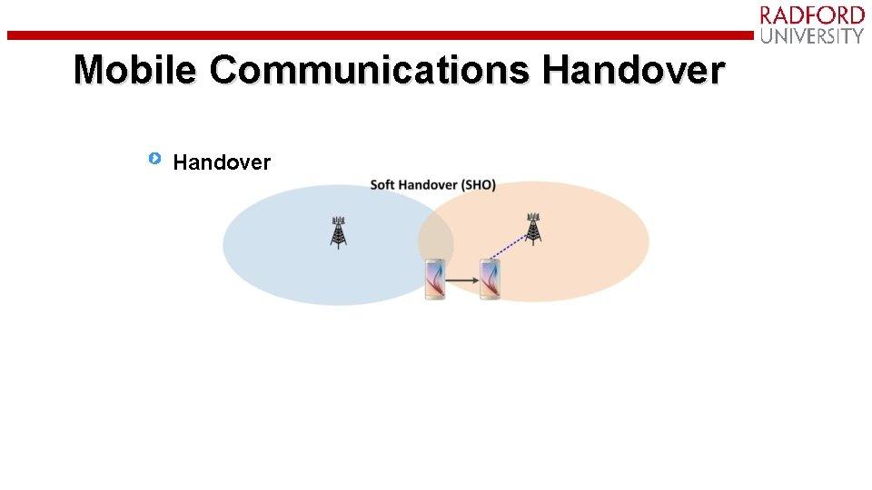 Mobile Communications Handover