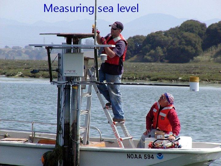 Measuring sea level