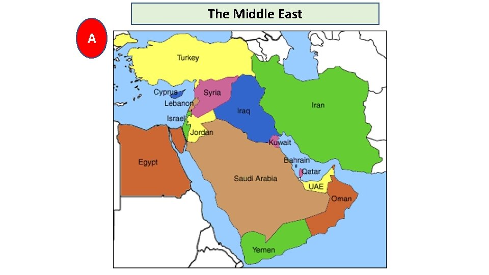 The Middle East A