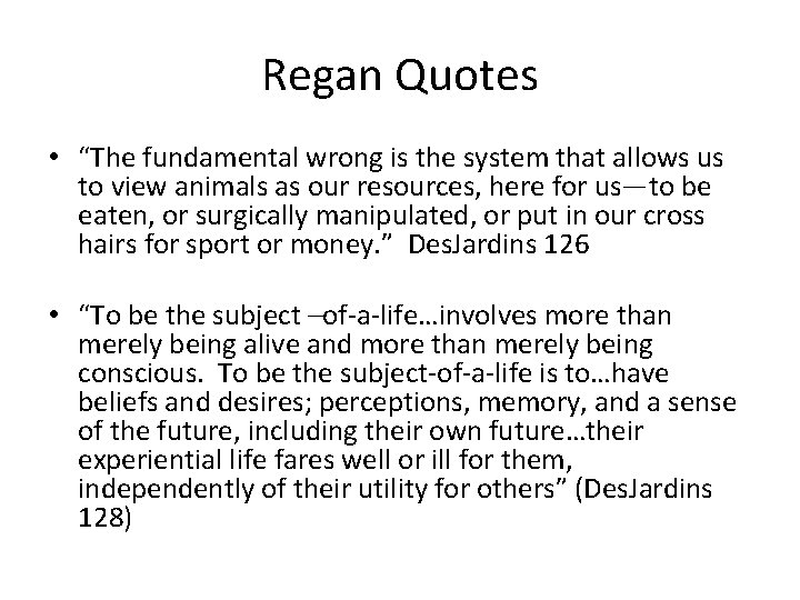 """Regan Quotes • """"The fundamental wrong is the system that allows us to view"""