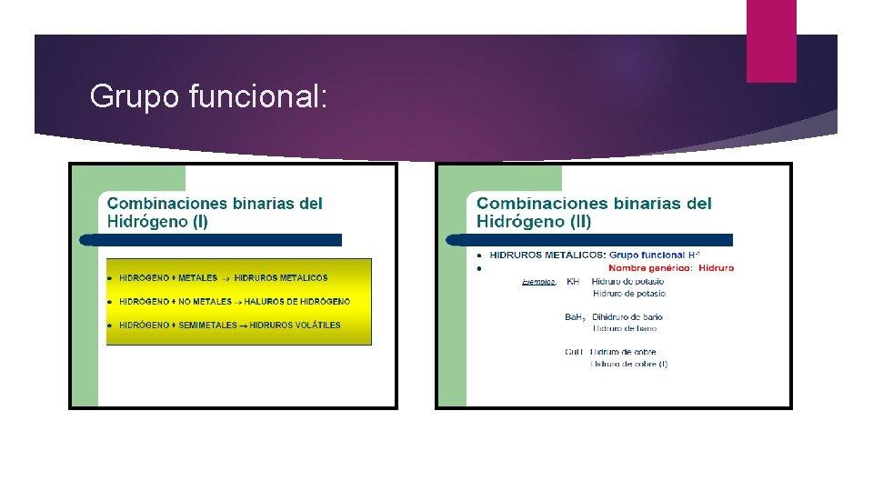 Grupo funcional: