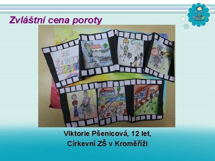 Zvláštní cena poroty Viktorie Pšenicová, 12 let, Církevní ZŠ v Kroměříži