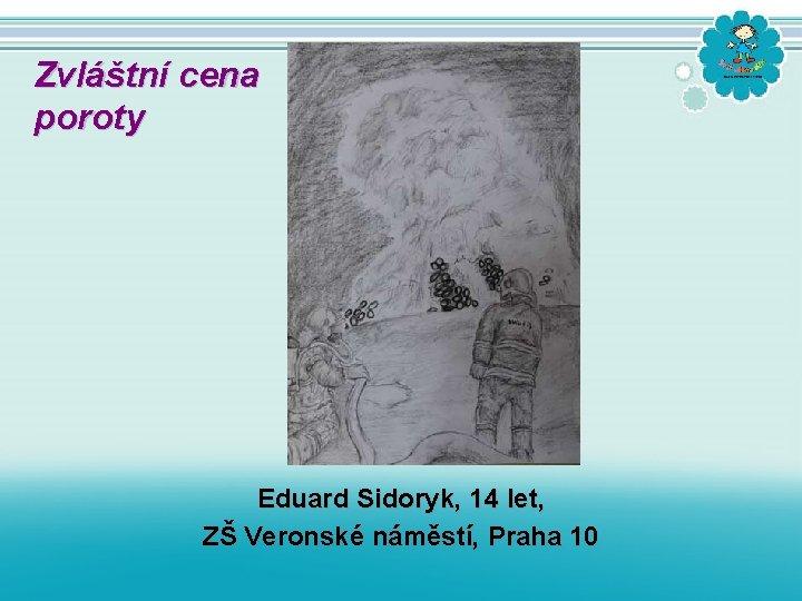 Zvláštní cena poroty Eduard Sidoryk, 14 let, ZŠ Veronské náměstí, Praha 10