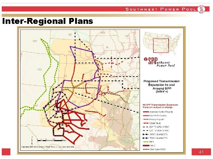 Inter-Regional Plans SPP. org 41