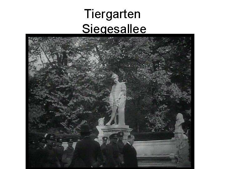 Tiergarten Siegesallee