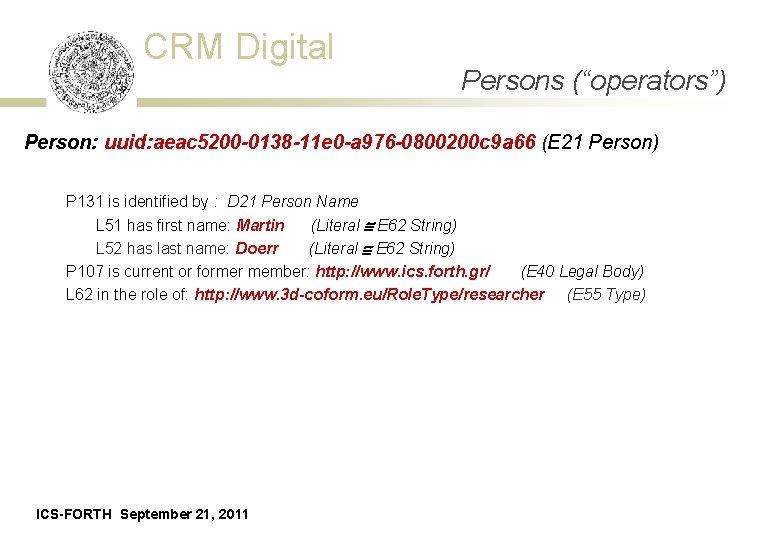 "CRM Digital (""operators"") Data Persons Acquisition Event - Schema Person: uuid: aeac 5200 -0138"
