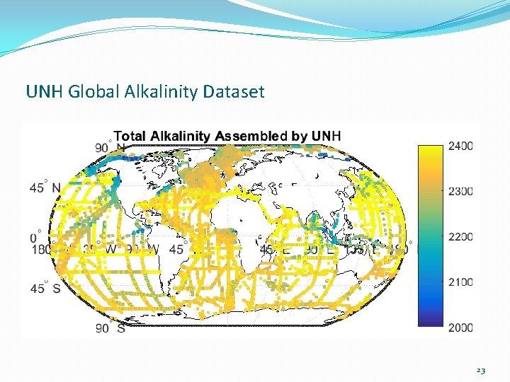 UNH Global Alkalinity Dataset 23