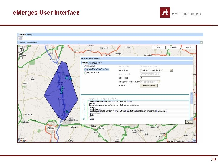 e. Merges User Interface 30