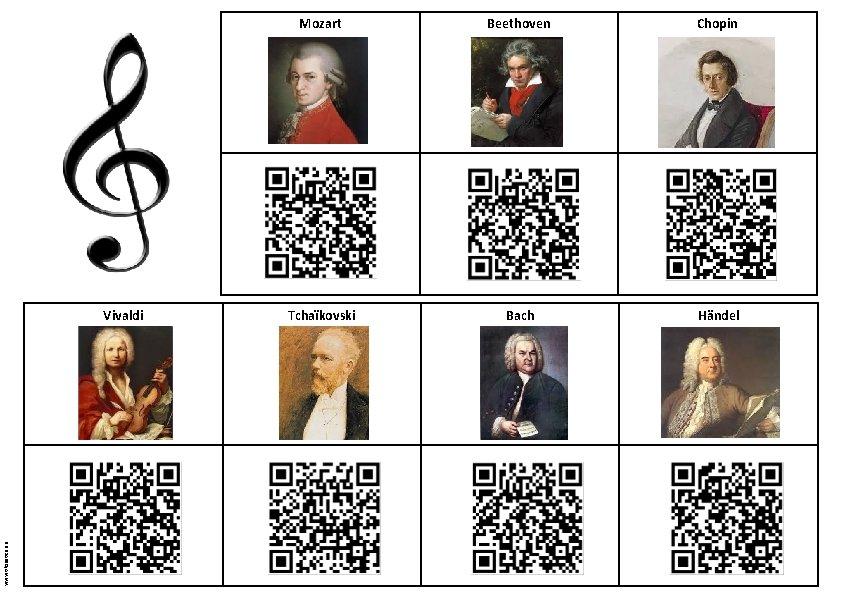 www. tiloustics. eu Vivaldi Mozart Beethoven Chopin Tchaïkovski Bach Händel