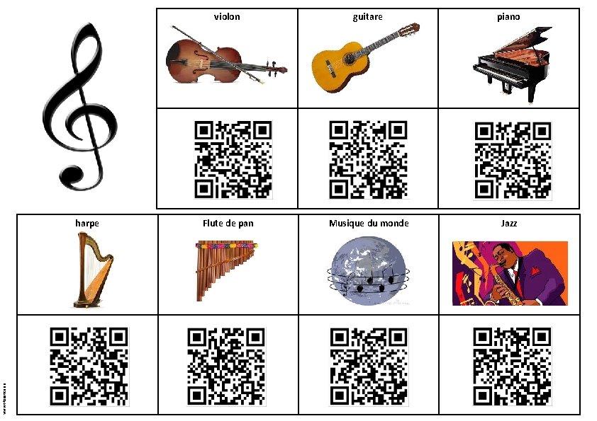 www. tiloustics. eu harpe violon guitare piano Flute de pan Musique du monde Jazz