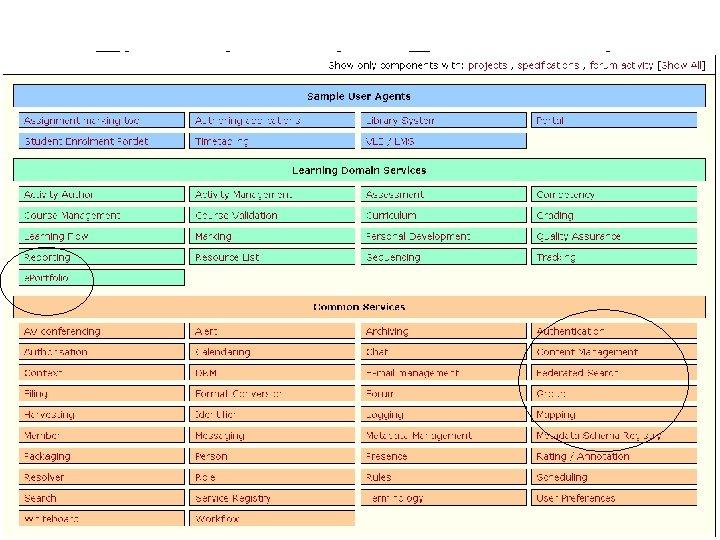 The e-Learning Framework