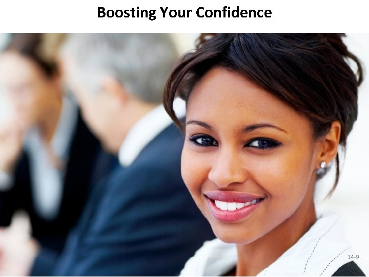Boosting Your Confidence 14 -9