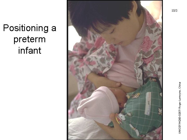 10/3 UNICEF/WHO Breastfeeding Promotion and Support in a Baby-Friendly Hospital – 20 hour Course