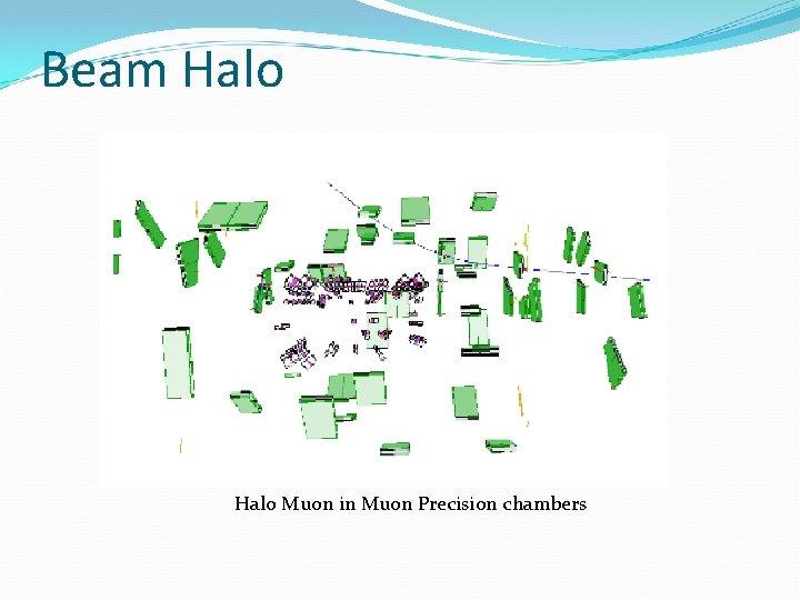 Beam Halo Muon in Muon Precision chambers