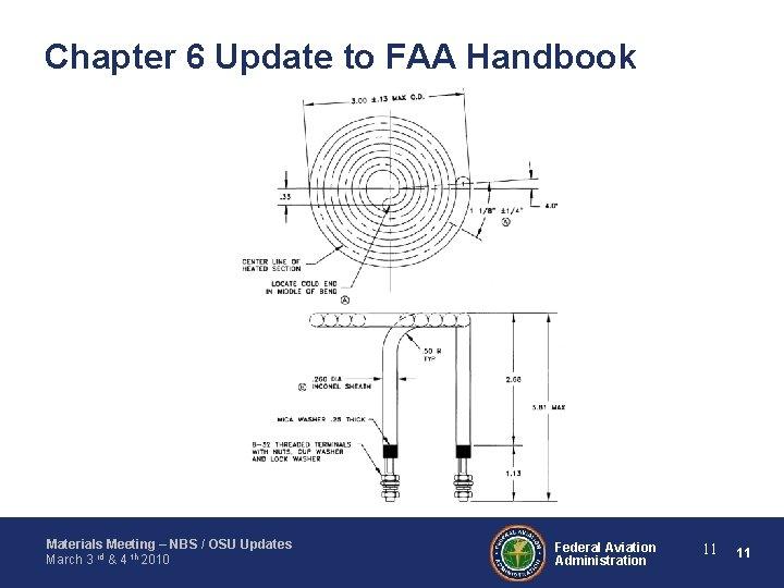 Chapter 6 Update to FAA Handbook Materials Meeting – NBS / OSU Updates March