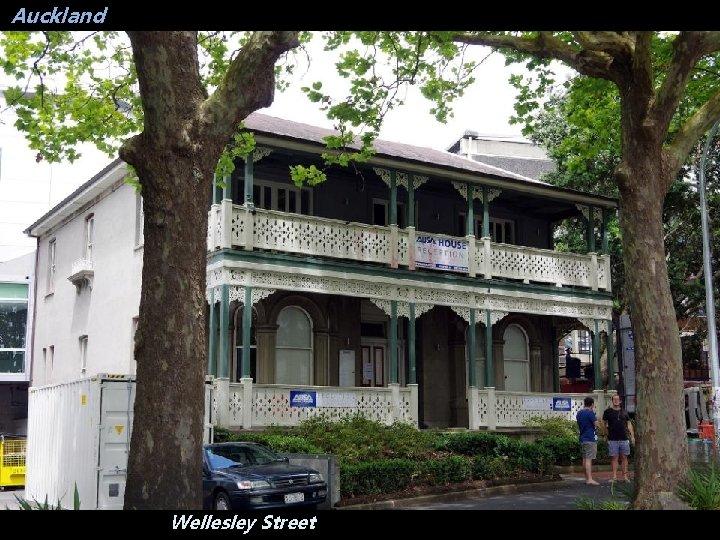 Auckland Wellesley Street