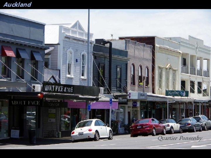 Auckland Quartier Ponsonby