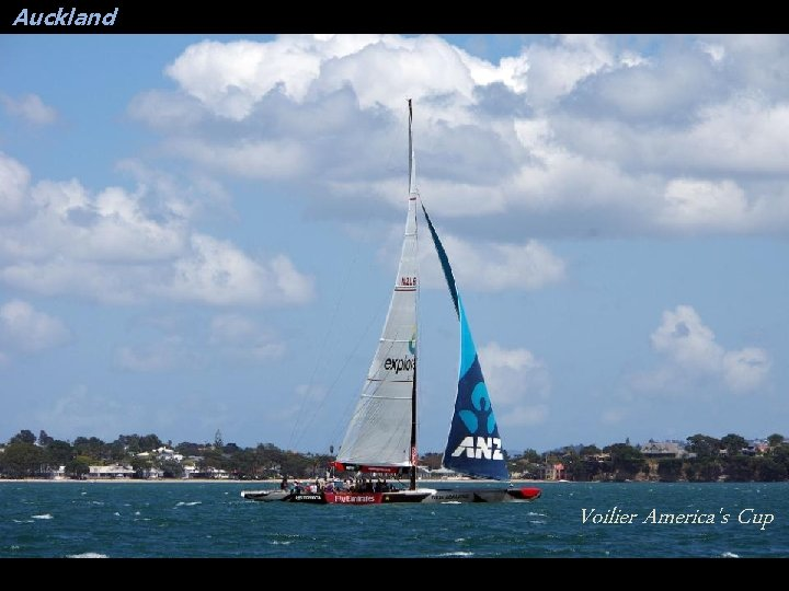 Auckland Voilier America's Cup