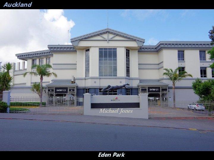 Auckland Michael Jones Eden Park