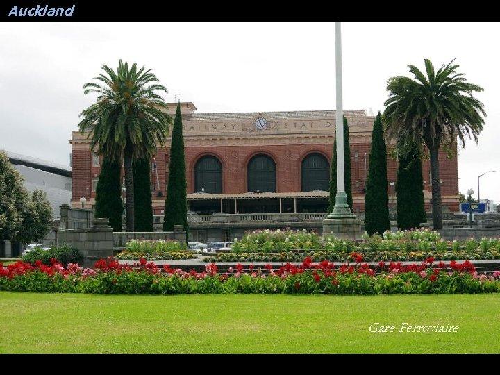 Auckland Gare Ferroviaire
