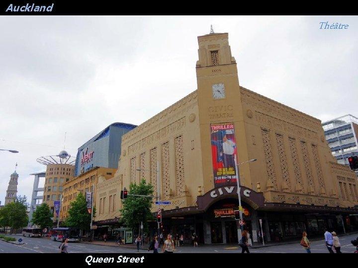 Auckland Théâtre Queen Street