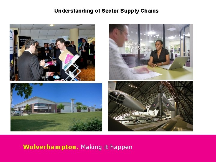 Understanding of Sector Supply Chains Wolverhampton. Making it happen