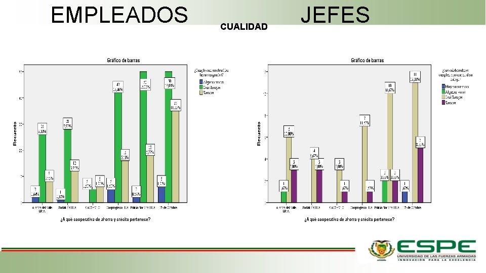 EMPLEADOS CUALIDAD JEFES