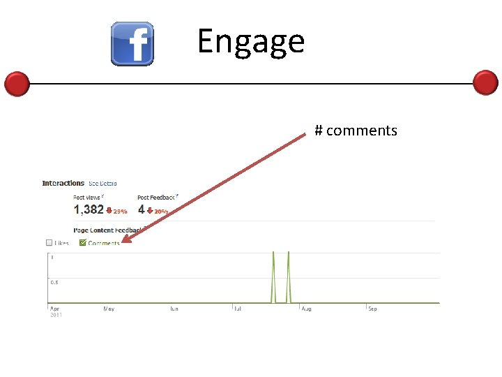 Engage # comments