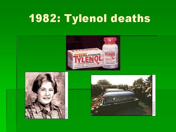 1982: Tylenol deaths