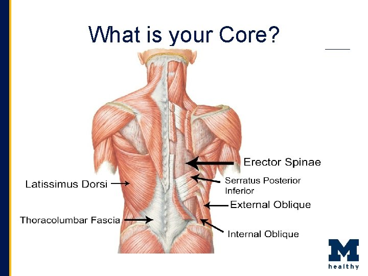 What is your Core?