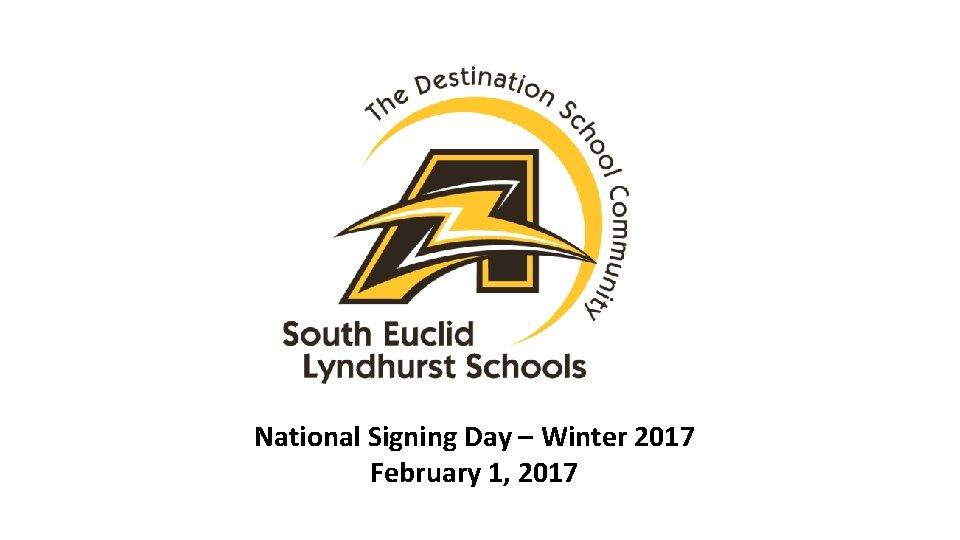National Signing Day – Winter 2017 February 1, 2017