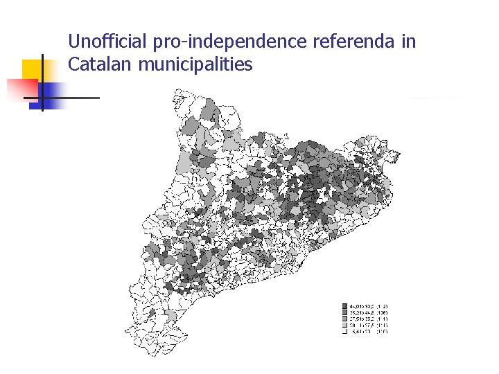 Unofficial pro-independence referenda in Catalan municipalities