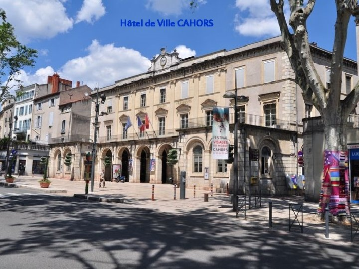 Hôtel de Ville CAHORS
