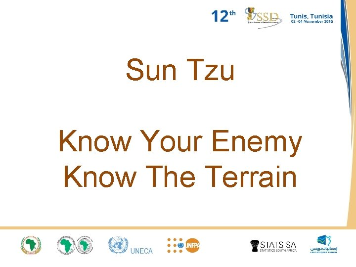 Sun Tzu Know Your Enemy Know The Terrain