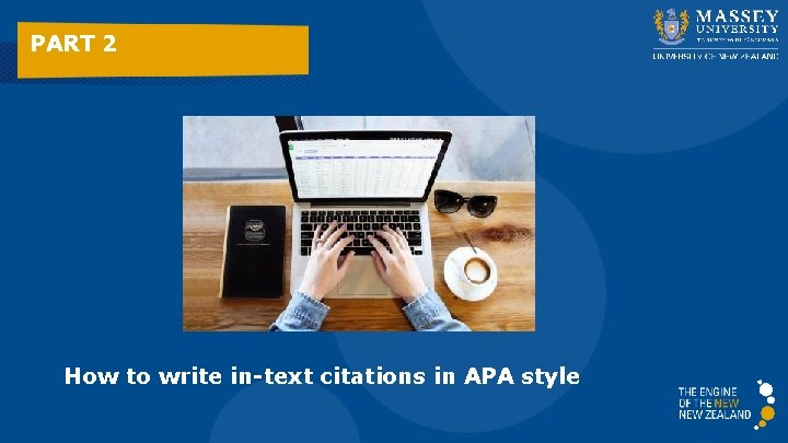 PART 2 How to write in-text citations in APA style