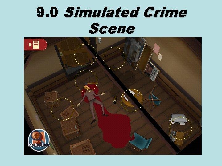 9. 0 Simulated Crime Scene